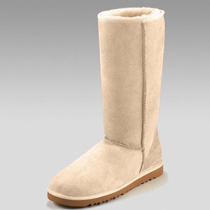 Tall Beige UGG Boots Size 8
